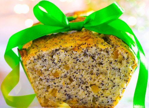 Cake à l'ananas et pavot.