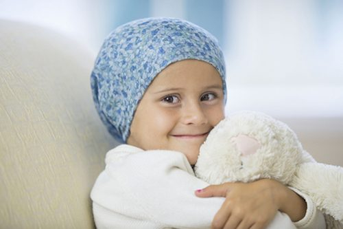 Enfant qui a un cancer
