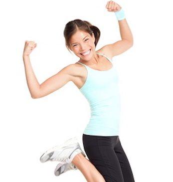 Femme qui fait du sport pour lutter contre la cellulite.