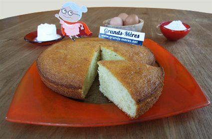 gateau au yaourt recette de grand mere