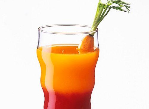 Jus de carottes et betterave.