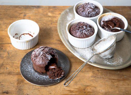 Recette des mi-cuits au chocolat
