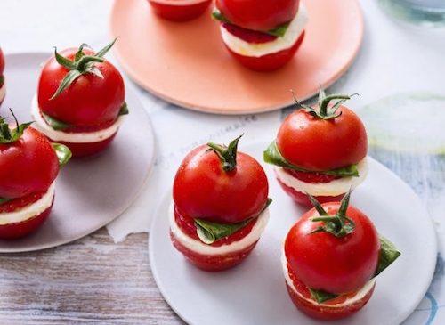 Tomates cerises pour l'apéro.